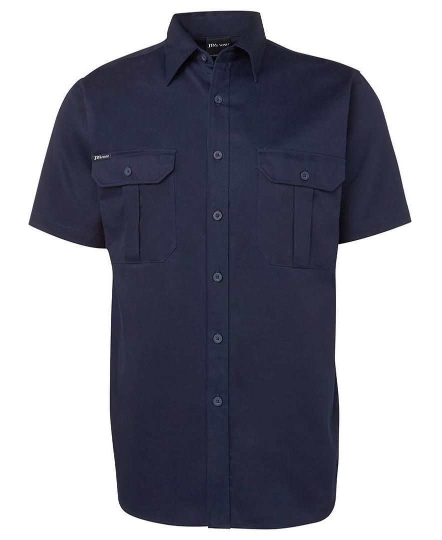 6WSS S/S 190G Work Shirt image 0
