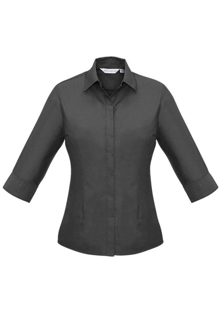 Ladies Hemingway 3/4 Sleeve Shirt image 3