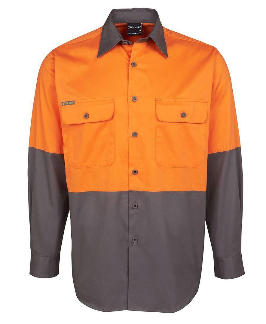 6HWSL Hi Vis L/S 150G Shirt image 1