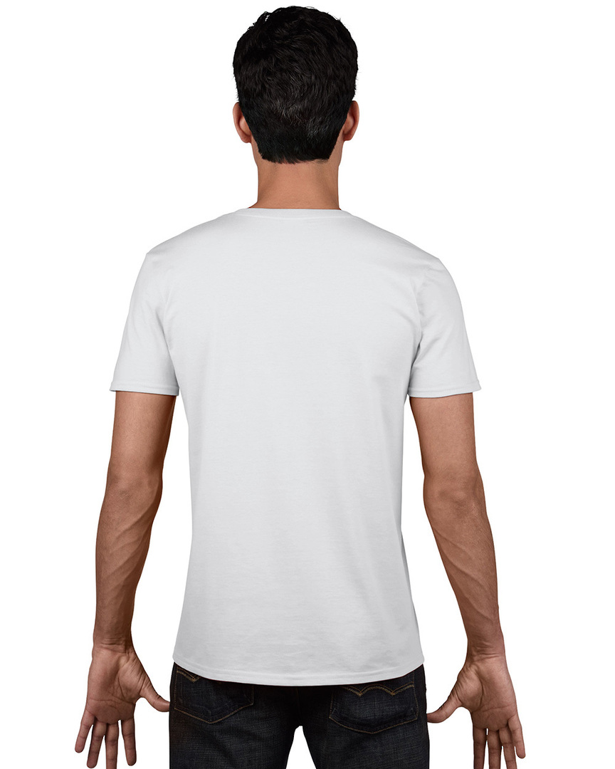 Softstyle® Euro Fit Adult V-Neck T-Shirt image 1