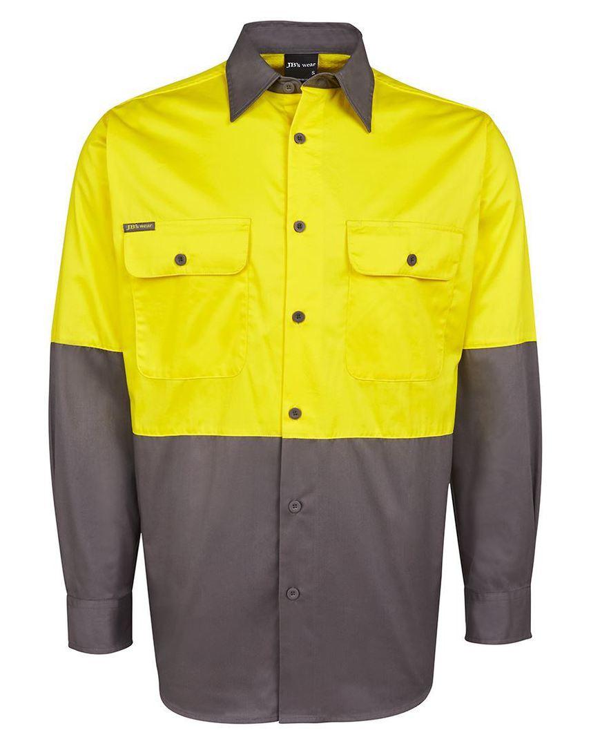 6HWSL Hi Vis L/S 150G Shirt image 2