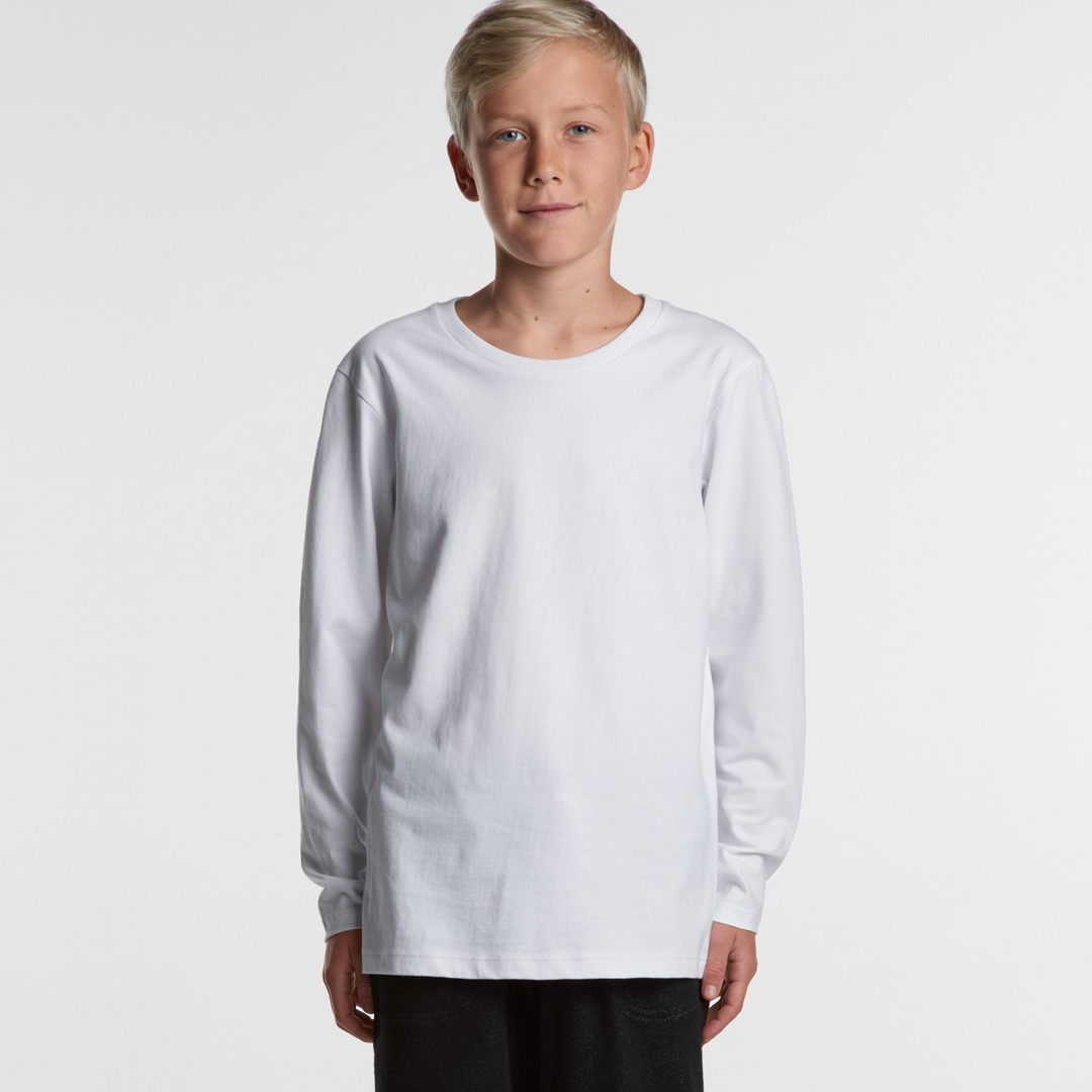 3008 YOUTH LONGSLEEVE TEE image 0