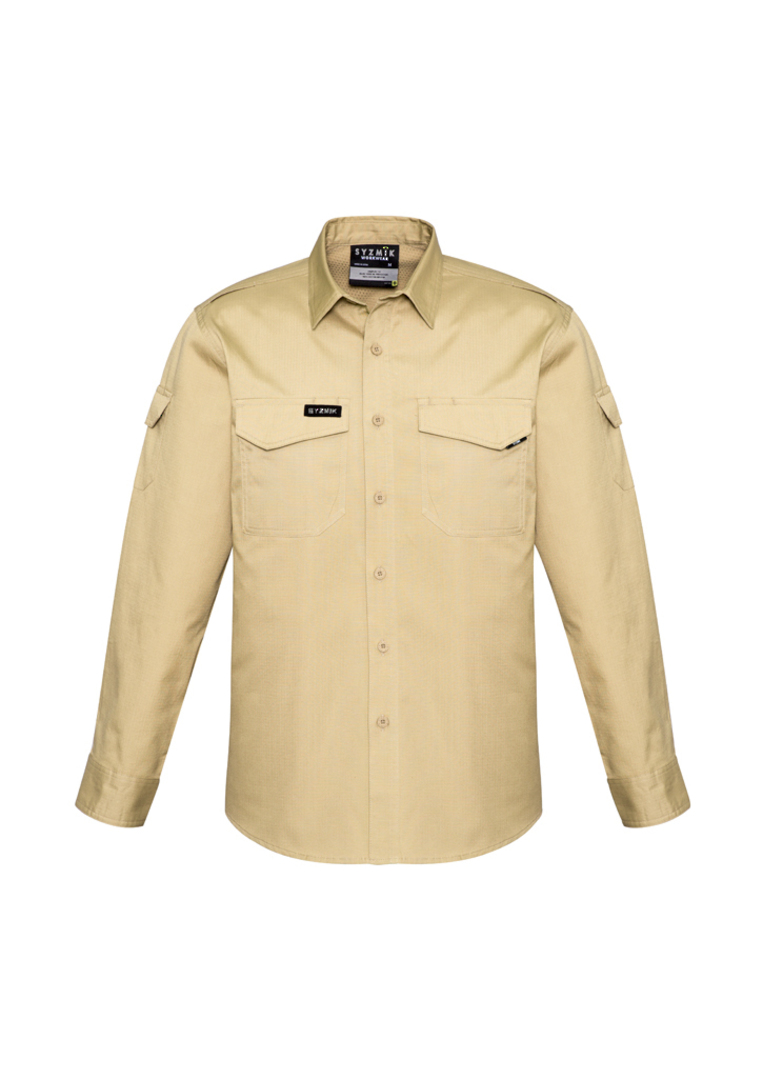 ZW400 Mens Rugged Cooling L/S Shirt image 4