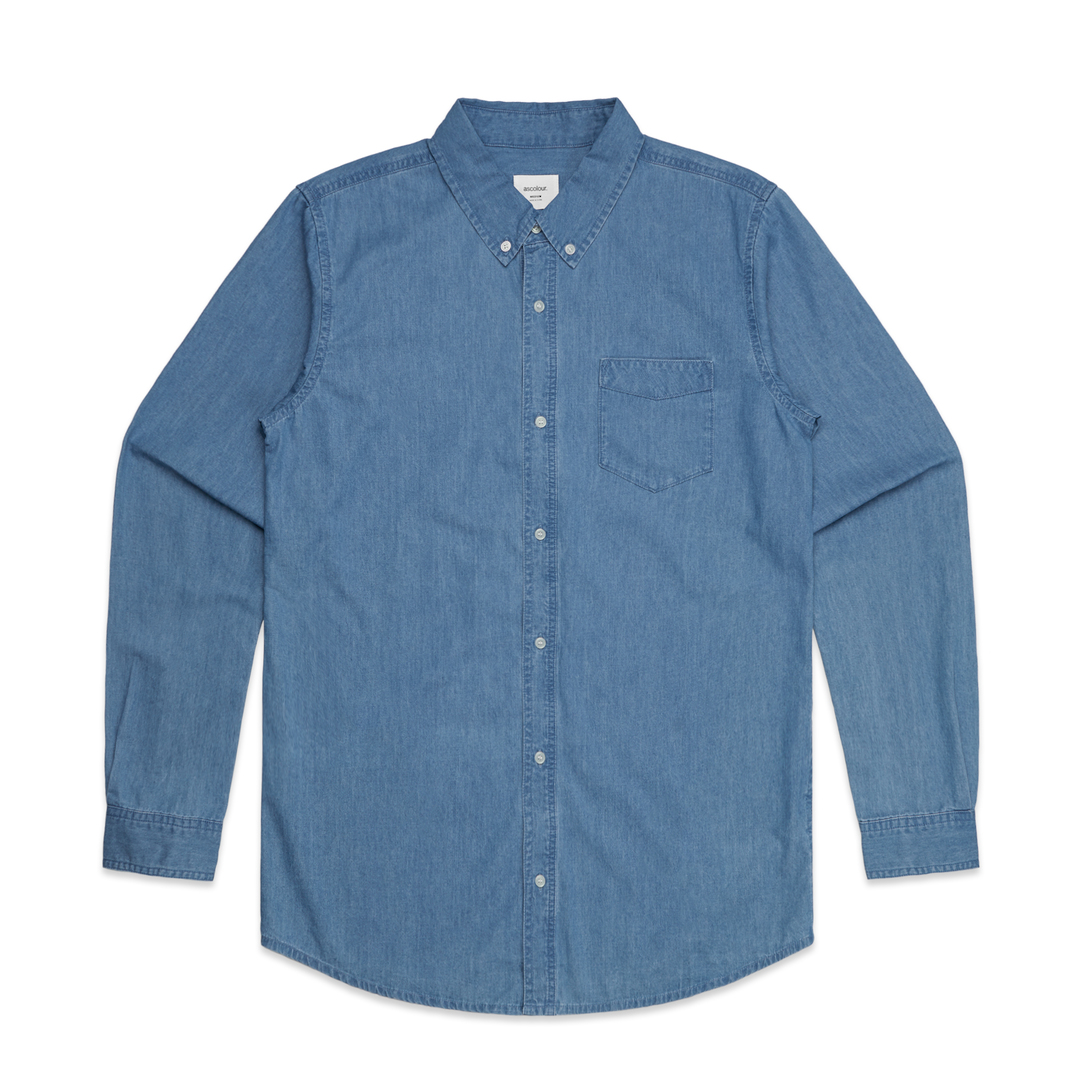 Denim Mens Shirt image 2