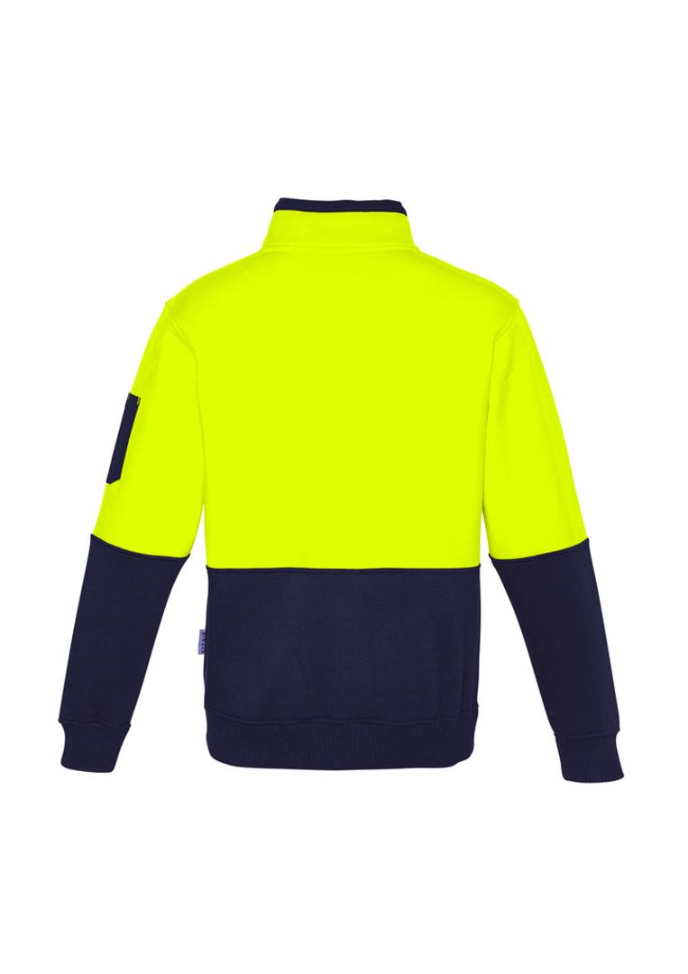 ZT476 Unisex Hi Vis Half Zip Pullover image 3