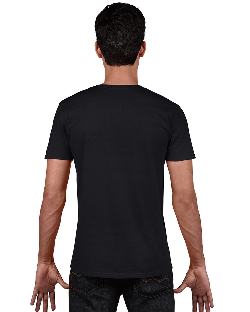 Softstyle® Euro Fit Adult V-Neck T-Shirt image 5