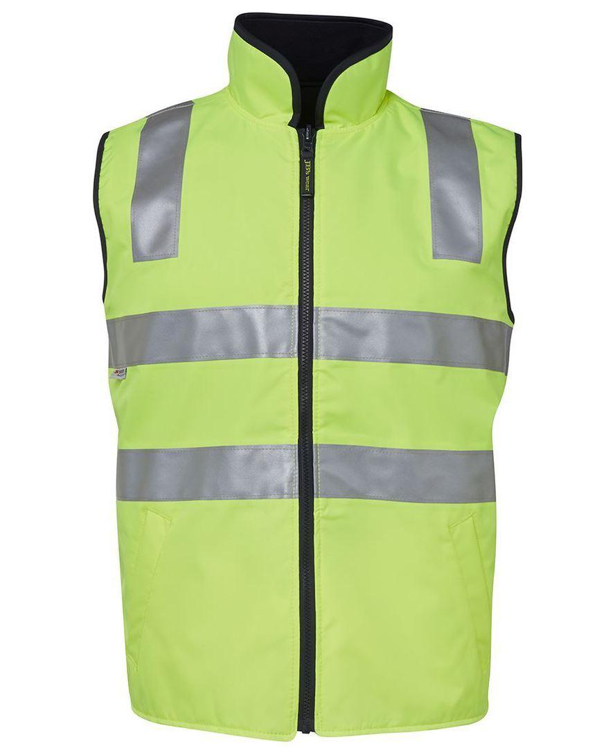6D4RV Hi Vis (D+N) Reversible Vest image 0
