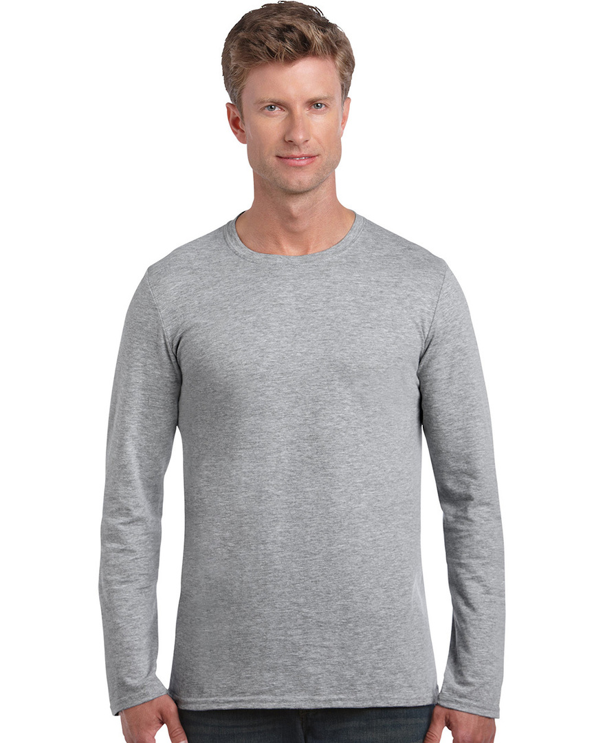 Softstyle® Euro Fit Adult Long Sleeve T-Shirt image 6
