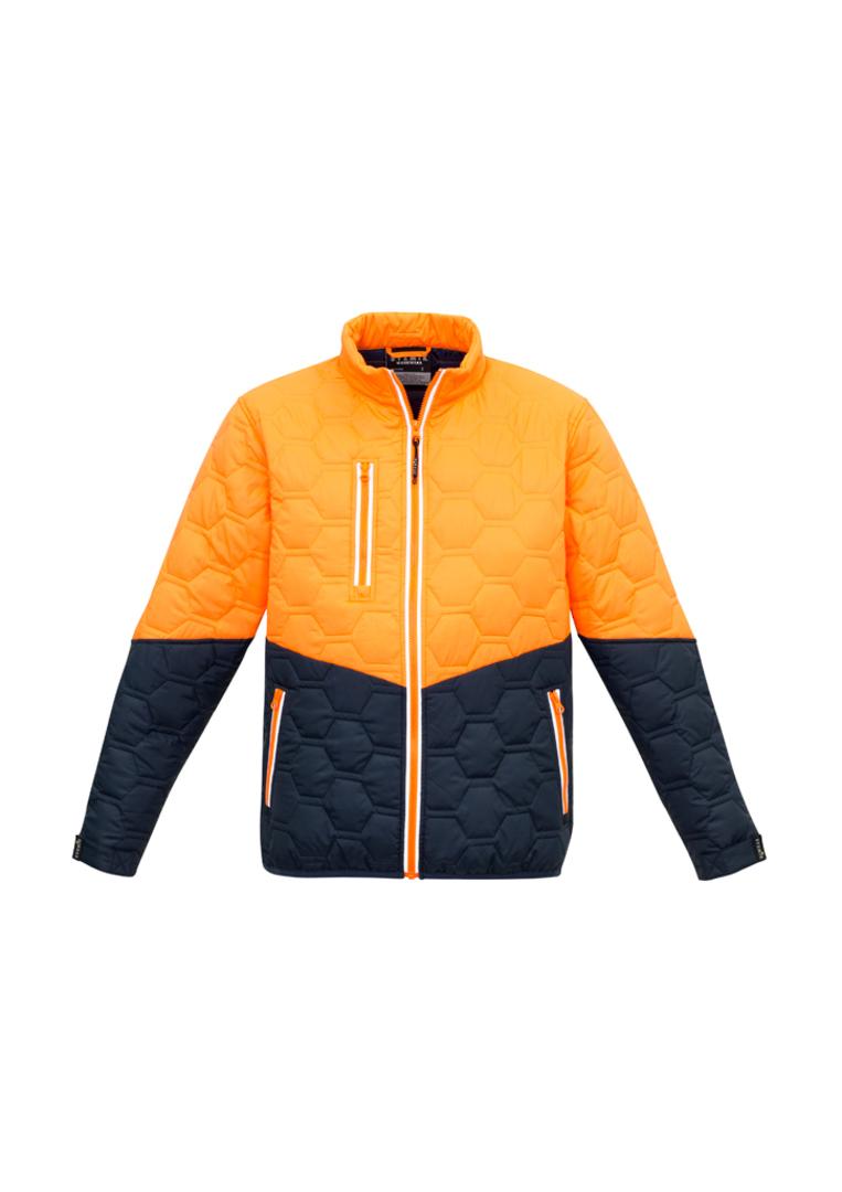 Unisex Hexagonal Puffer Jacket image 2