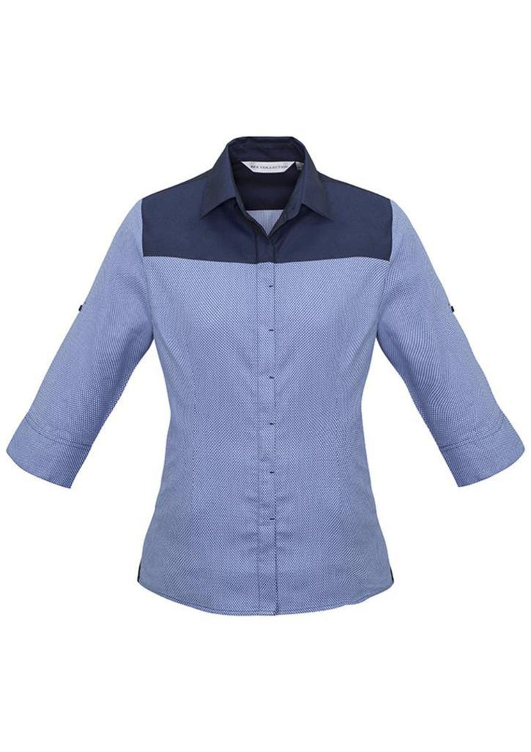 Ladies Havana 3/4 Sleeve Shirt image 1