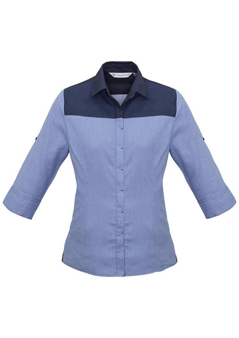 Ladies Havana 3/4 Sleeve Shirt image 1