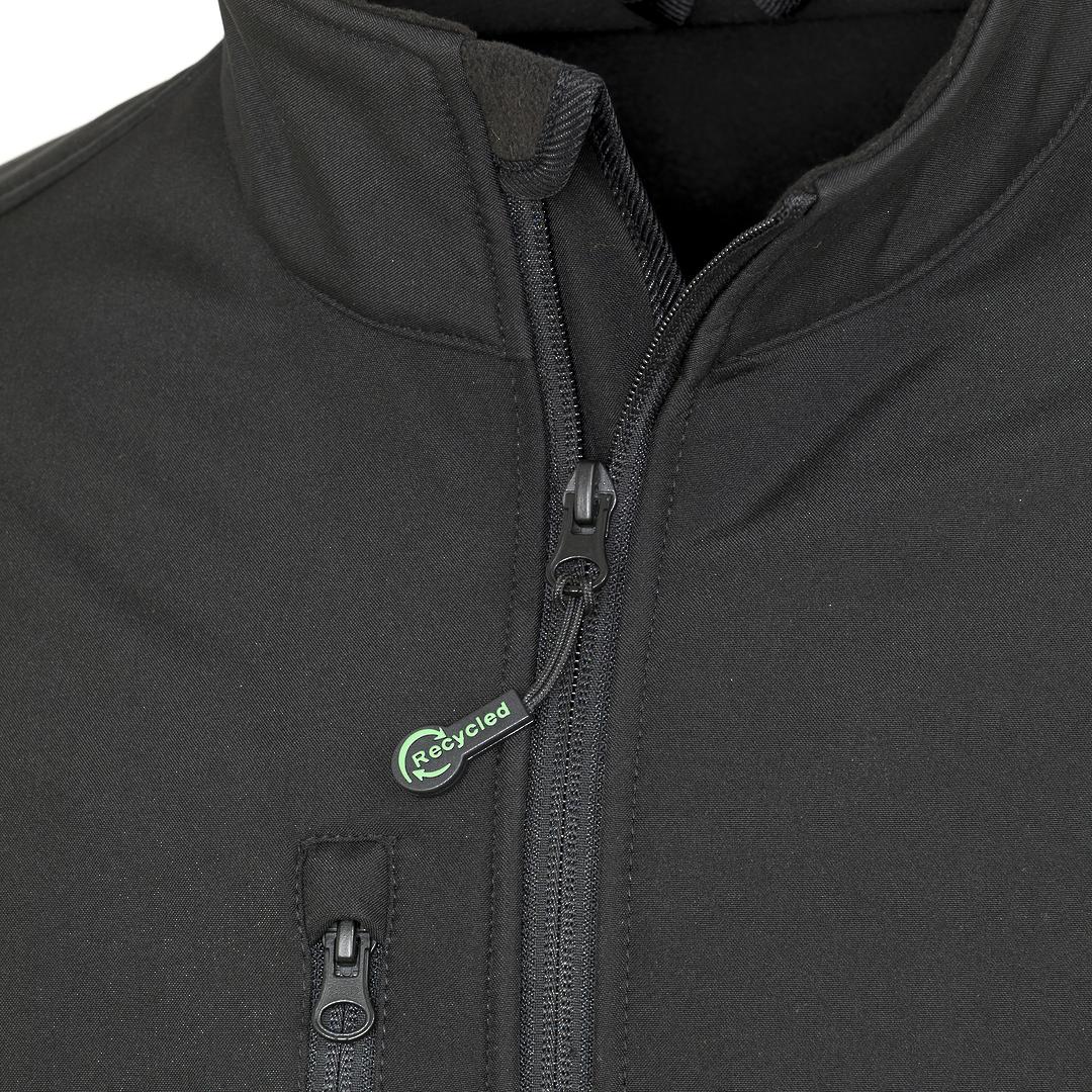 Recycled 3-Layer Softshell Jacket image 3
