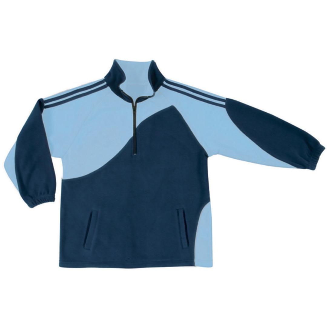 KF0 Kids Unisex Sports Fleece Pullover image 4