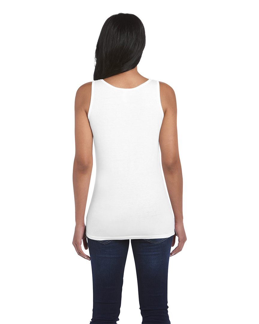 Softstyle® Fitted Ladies' Tank Top image 2