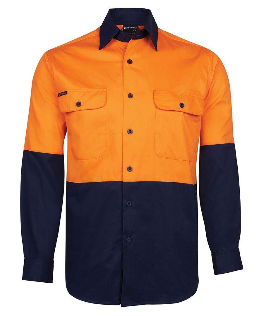 6HWSL Hi Vis L/S 150G Shirt image 0