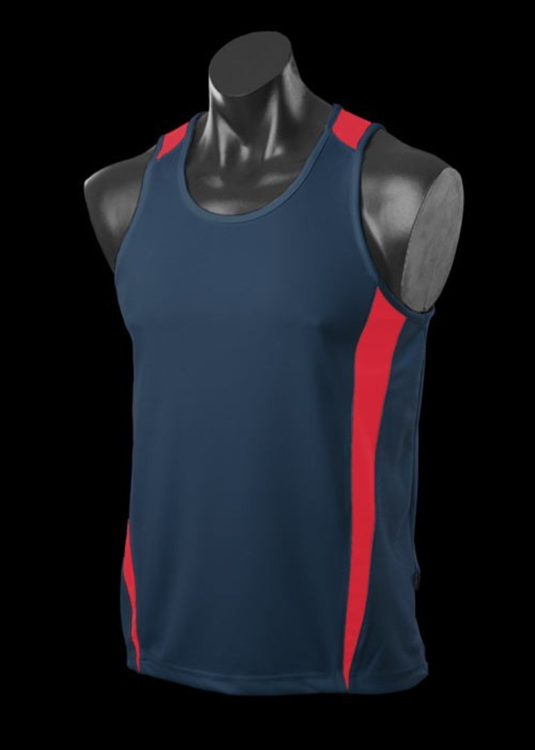 Mens and Womens Deluxe Eureka Singlets image 5