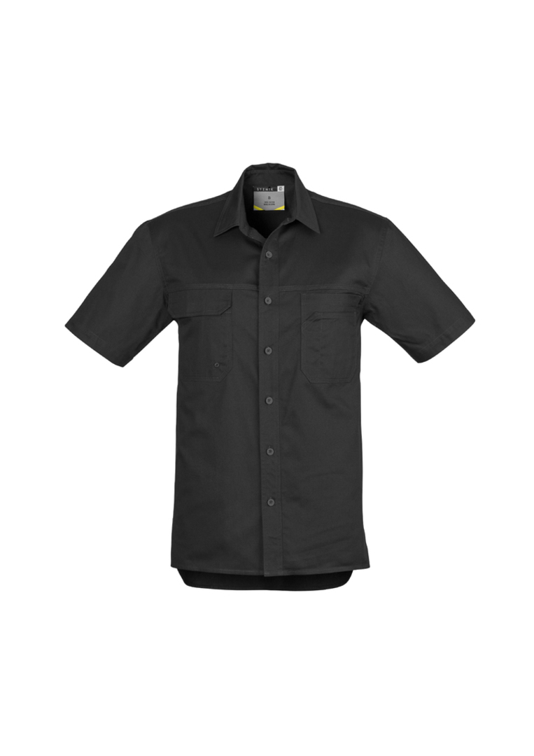 ZW120 Mens Light Weight Tradie Shirt - Short Sleeve image 0
