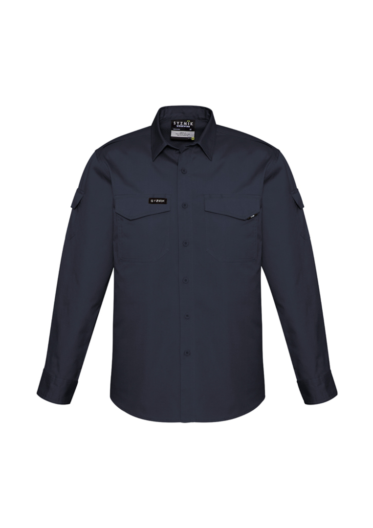 ZW400 Mens Rugged Cooling L/S Shirt image 2