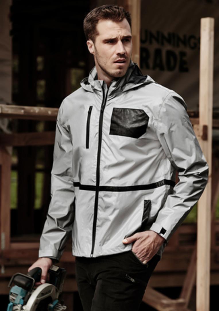 Unisex Reflective Waterproof Jacket image 0