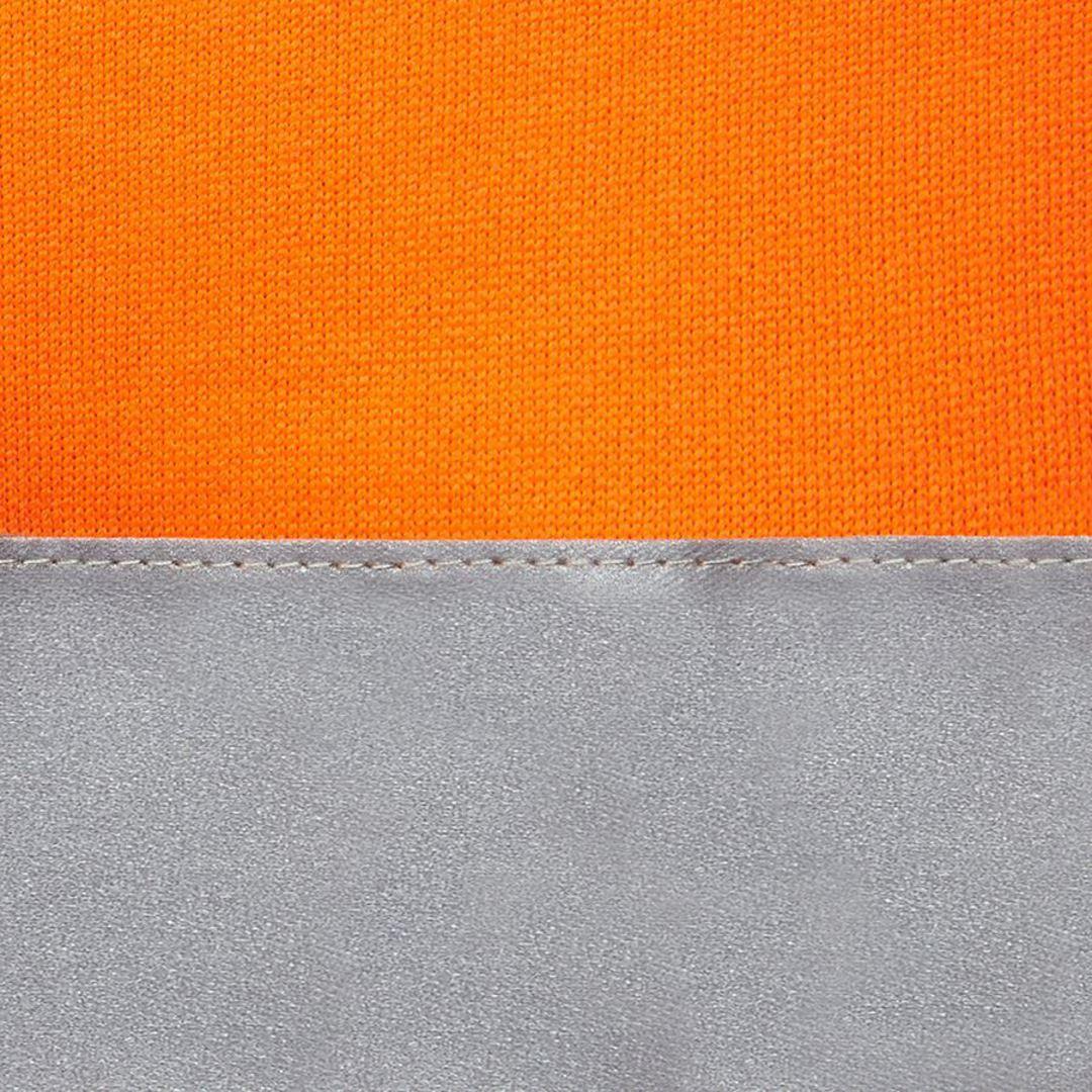 6DNH Hi Vis (D+N) Full Zip Fleecy Hoodie image 4