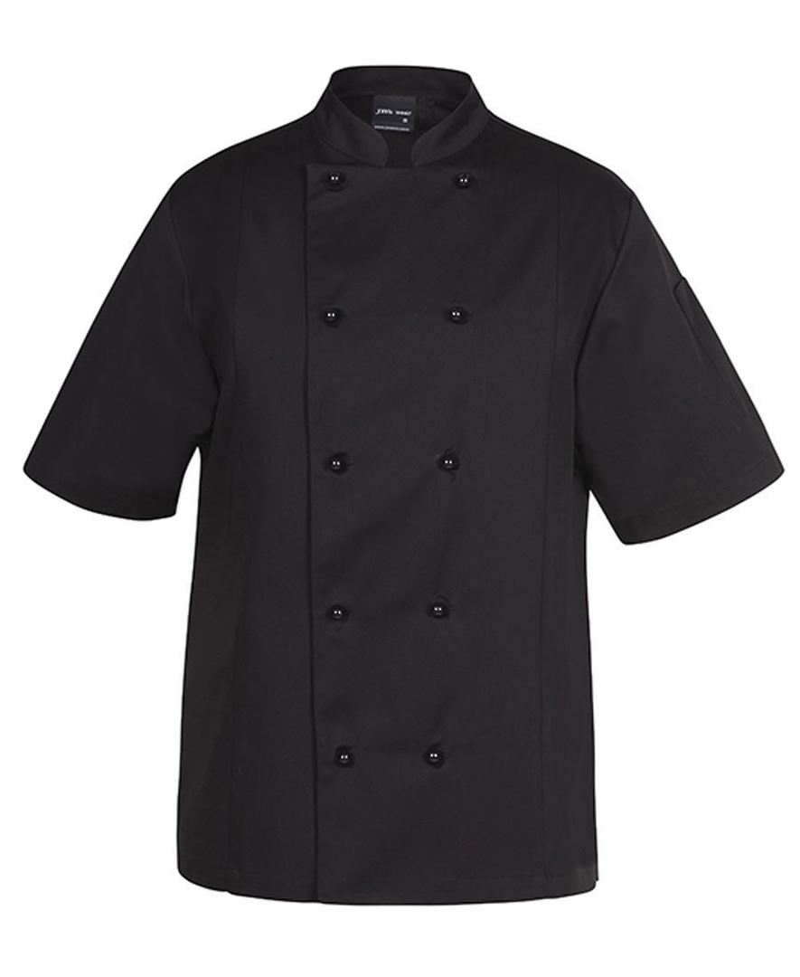 VENTED CHEF'S S/S JACKET 5CVS image 3