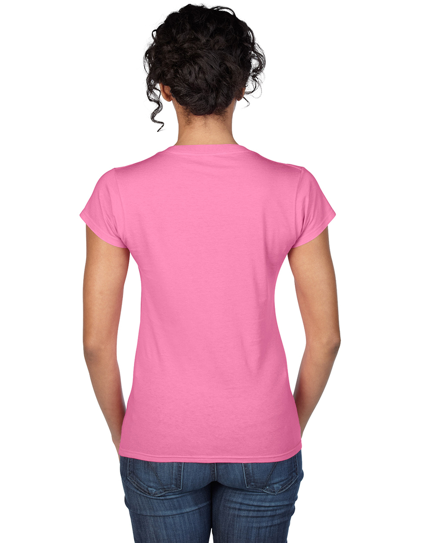 Softstyle® Fitted Ladies' V-Neck T-Shirt image 7