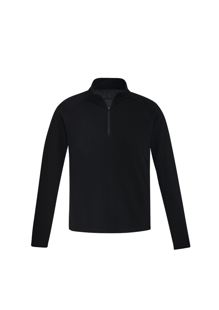 MENS MERINO WOOL MID-LAYER PULLOVER image 1