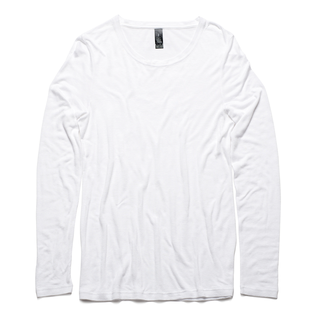 4026 FINE LONG SLEEVE TEE image 1