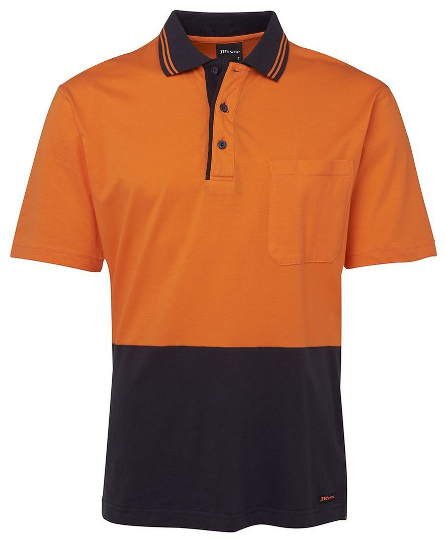 6CPHV Hi Vis S/S Cotton Polo image 4