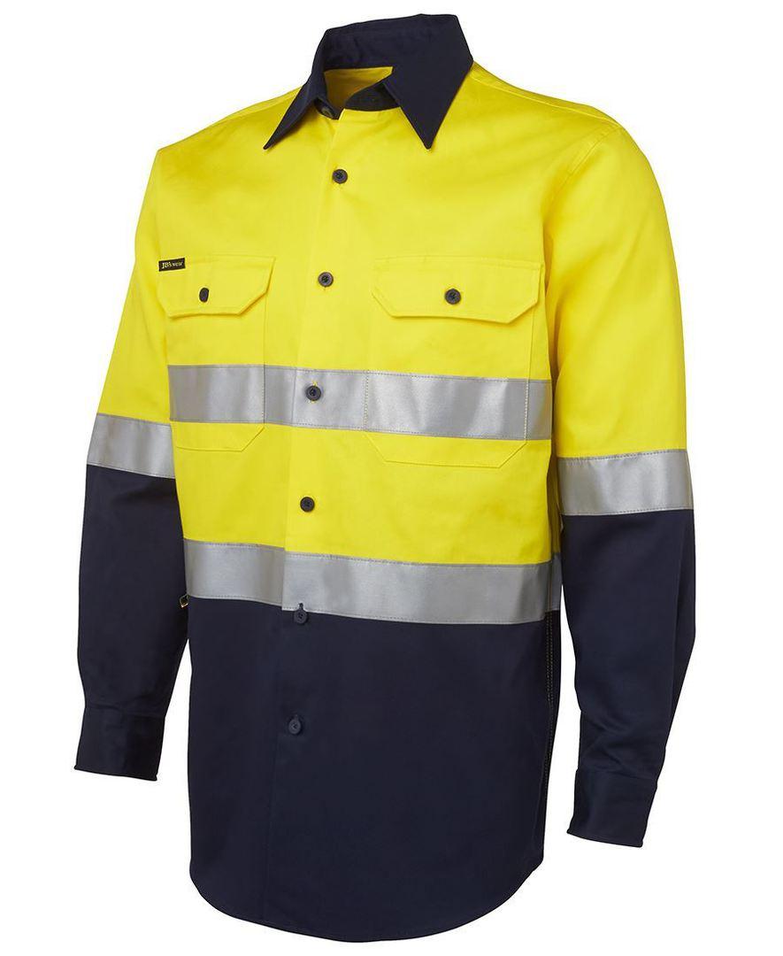 6HLS Hi Vis (D+N) L/S 190G Shirt image 3
