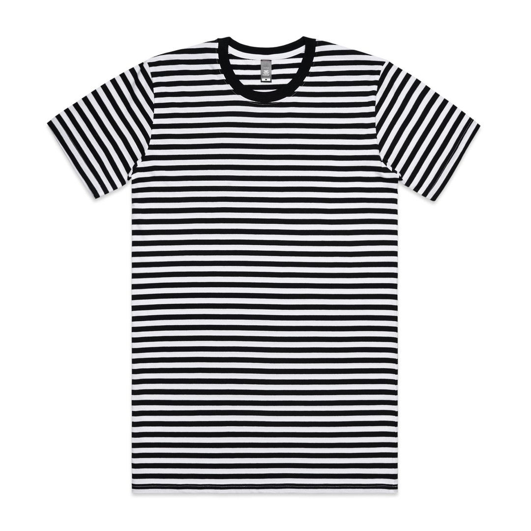 MENS STAPLE STRIPE TEE - 5028  image 1
