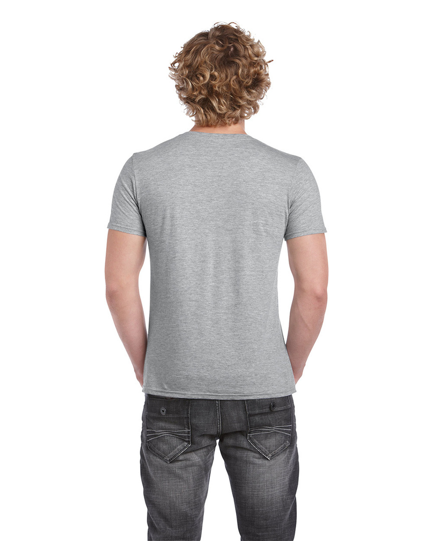 Softstyle® Euro Fit Adult V-Neck T-Shirt image 7