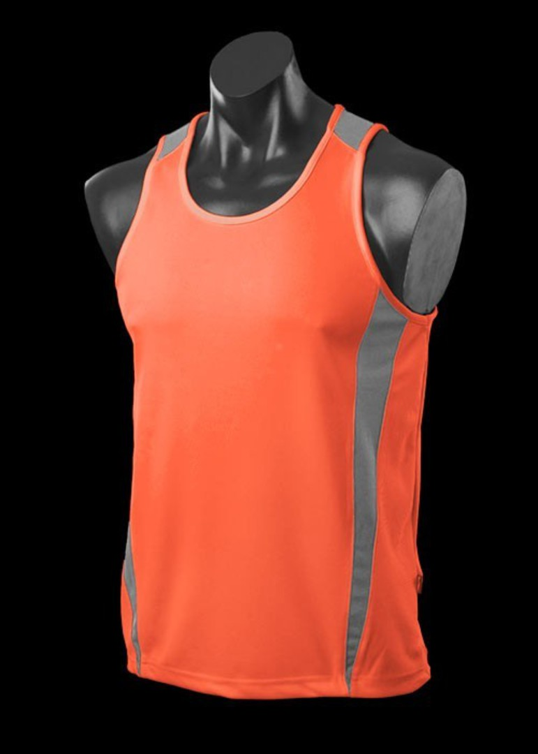 Mens and Womens Deluxe Eureka Singlets image 16
