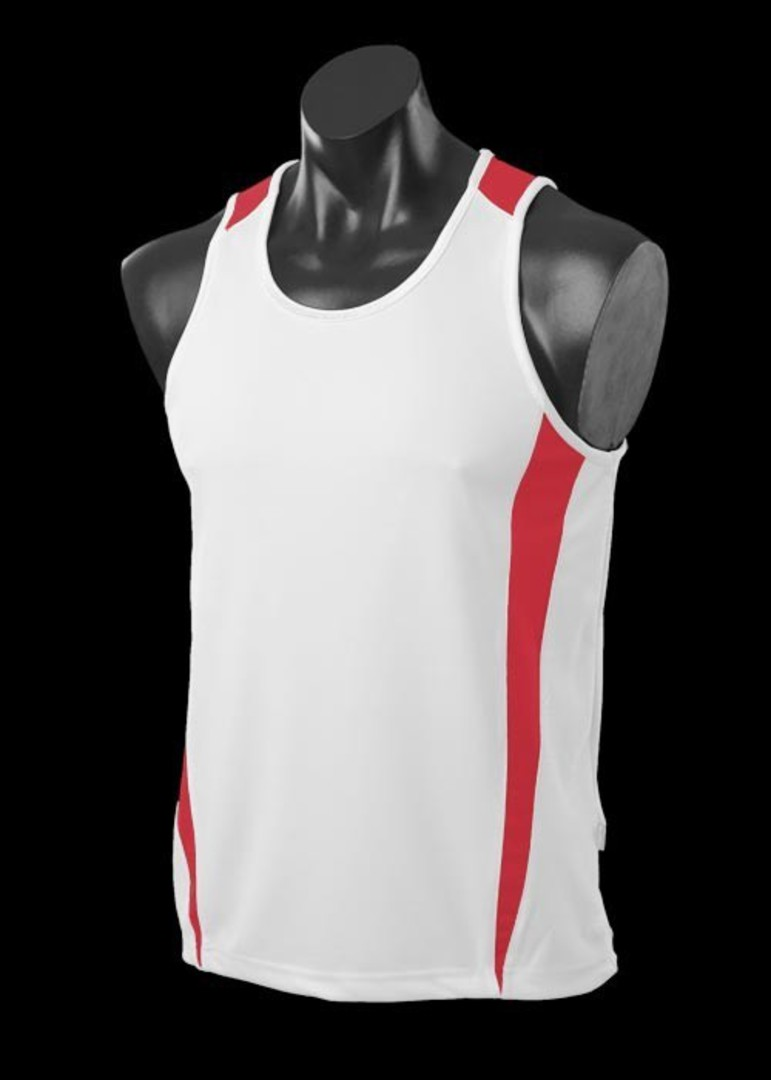 Mens and Womens Deluxe Eureka Singlets image 3