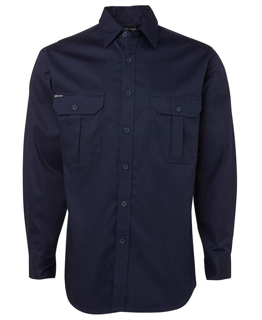 6WLS L/S 190G Work Shirt image 0