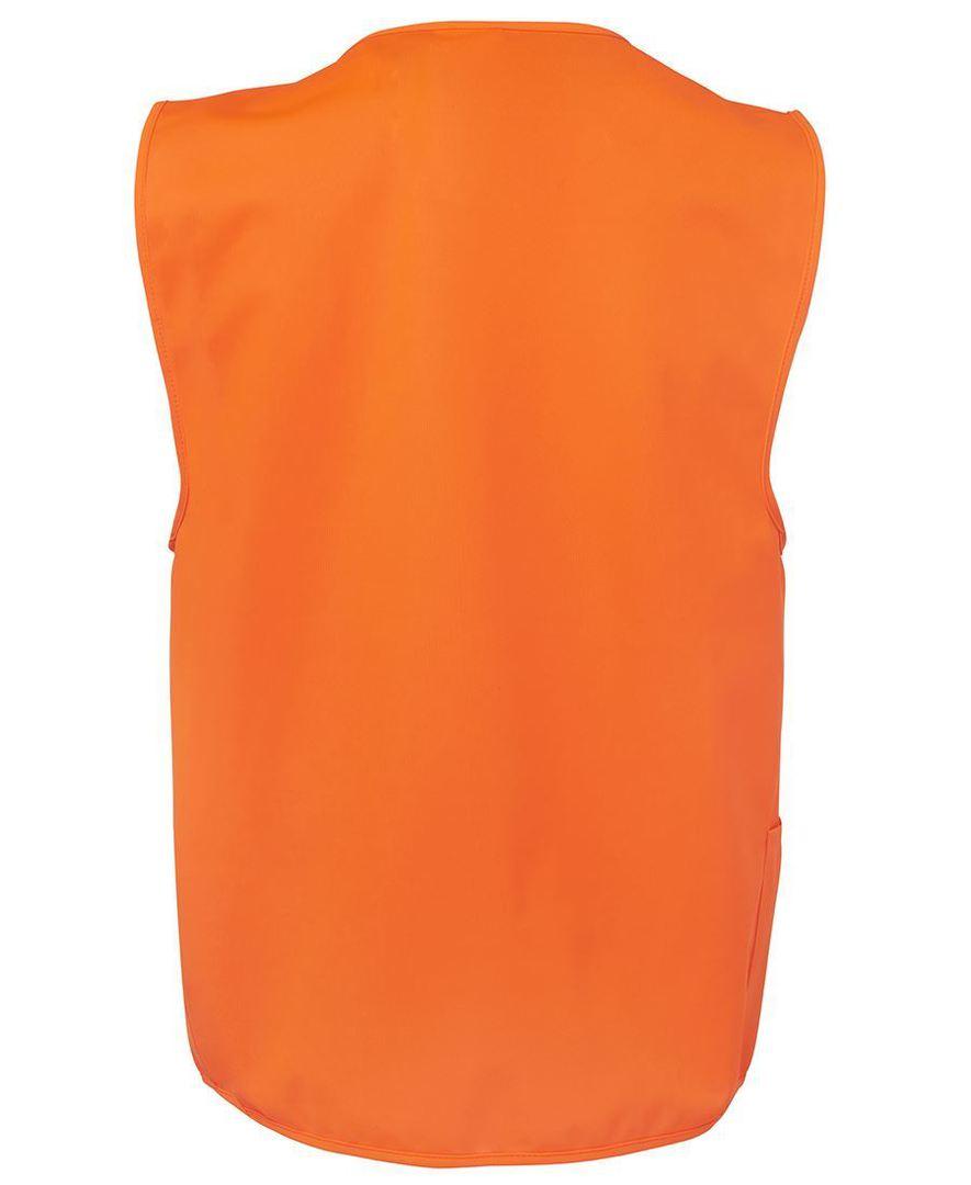 6HVSZ Hi Vis Zip Safety Vest image 3
