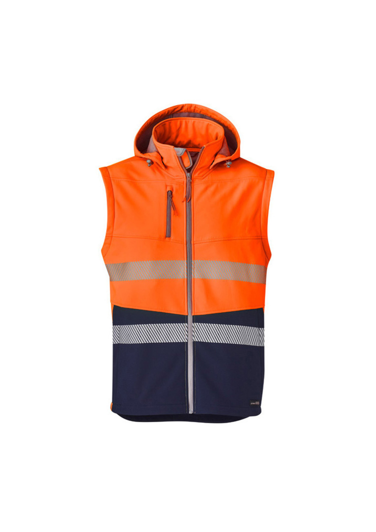 UNISEX 2 IN 1 STRETCH SOFTSHELL TAPED JACKET image 4