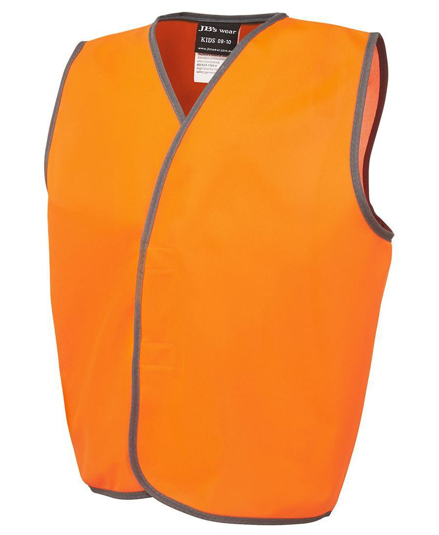 6HVSU Kids Hi Vis Safety Vest image 2
