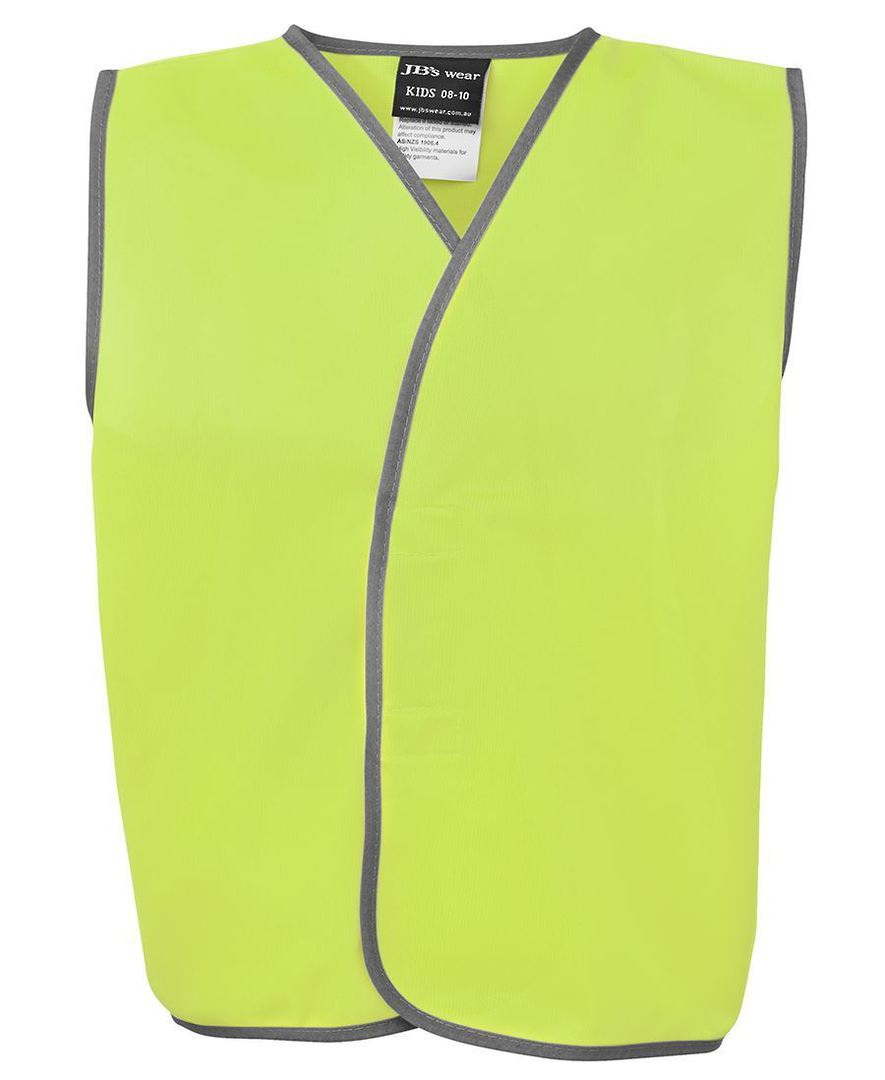 6HVSU Kids Hi Vis Safety Vest image 0