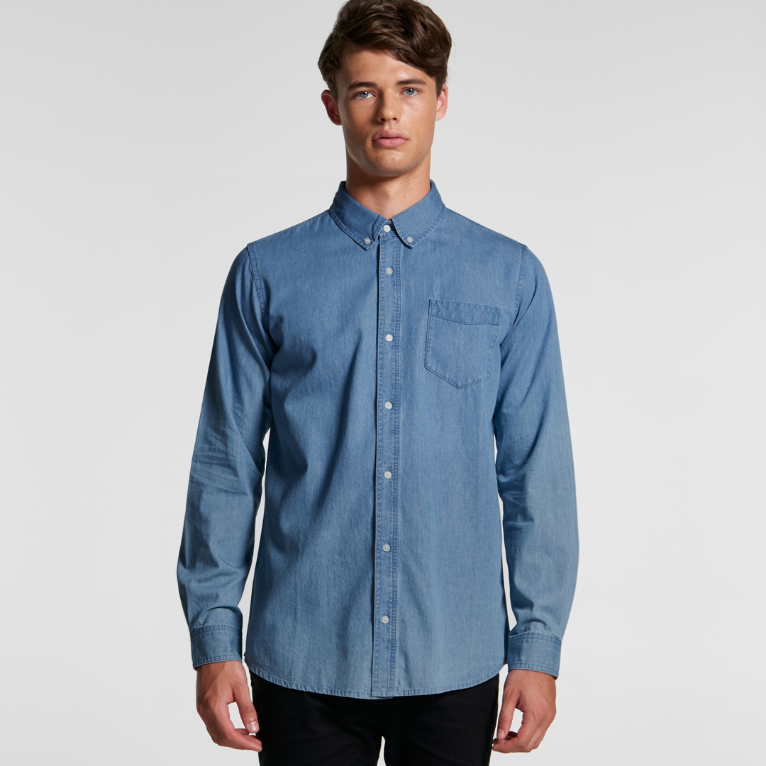 Denim Mens Shirt image 0