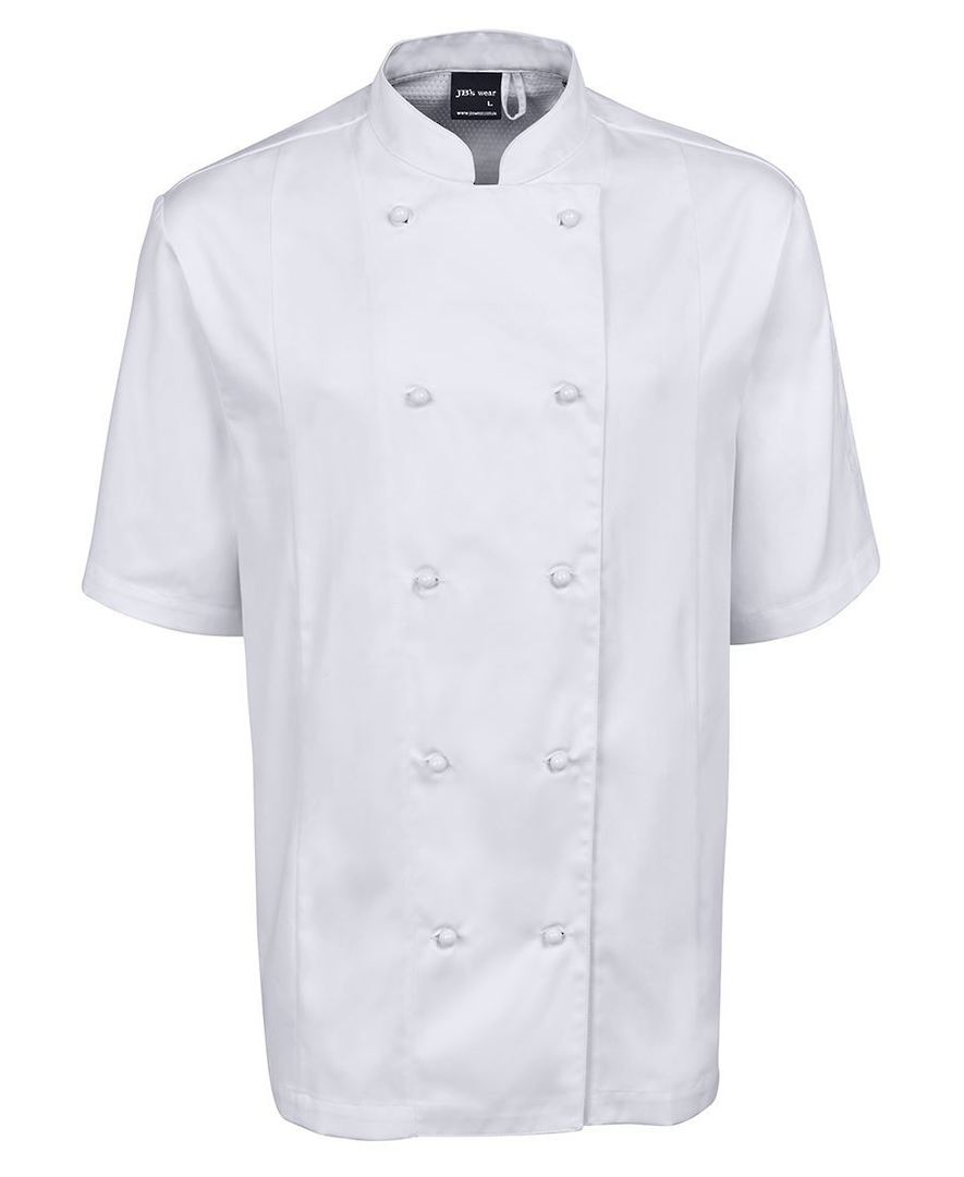 VENTED CHEF'S S/S JACKET 5CVS image 1