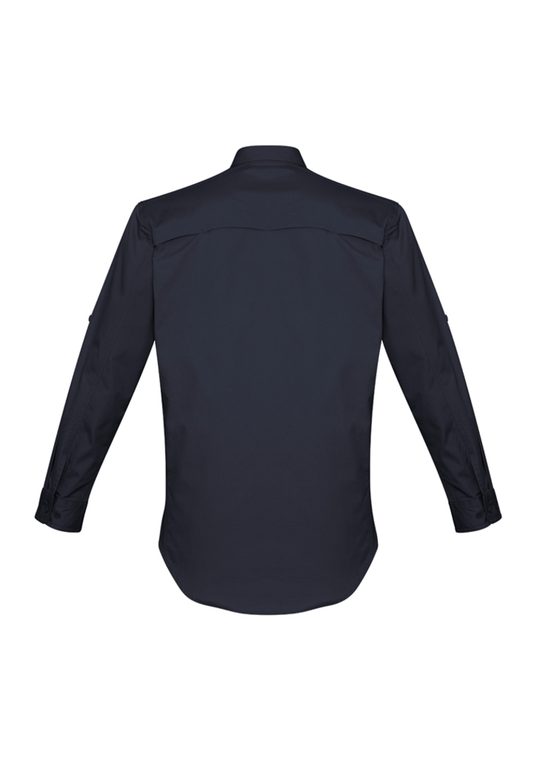 ZW400 Mens Rugged Cooling L/S Shirt image 3