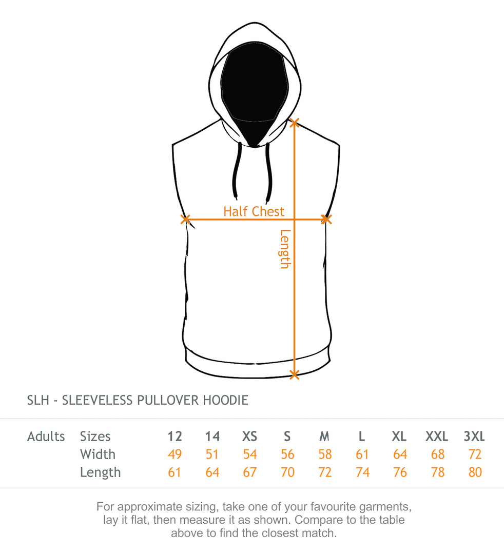 Sleeveless Hood - Midweight 300gsm image 5