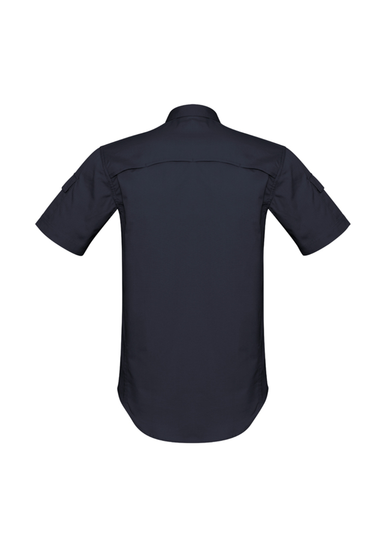 ZW405 Mens Rugged Cooling Mens S/S Shirt image 3