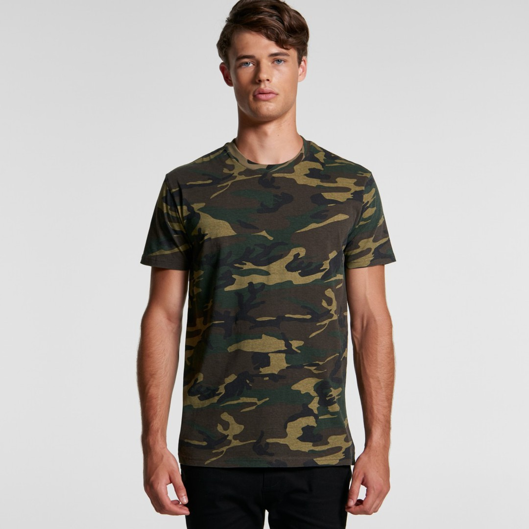 MENS STAPLE CAMO TEE - 5001C image 0