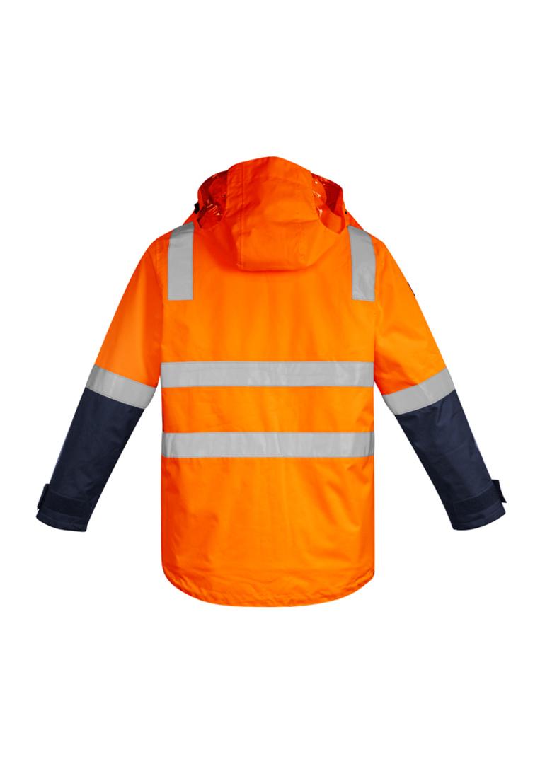 ZJ530 Mens Hi Vis 4 in 1 Waterproof Jacket image 0