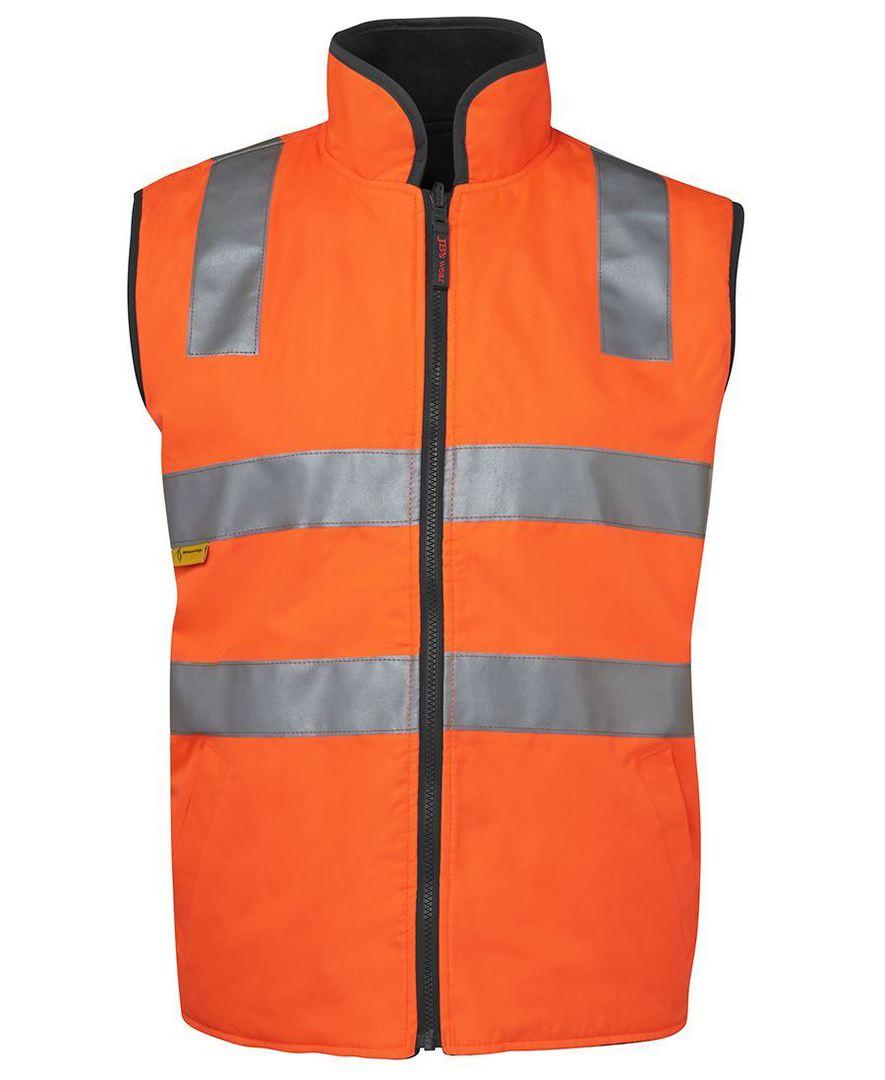 6D4RV Hi Vis (D+N) Reversible Vest image 5