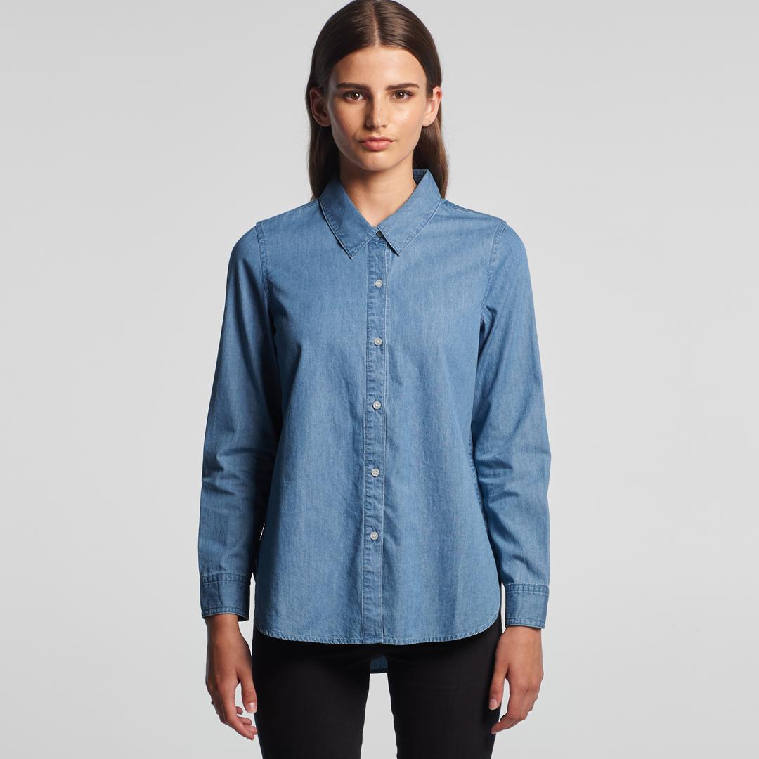 Denim Womens Shirt image 0