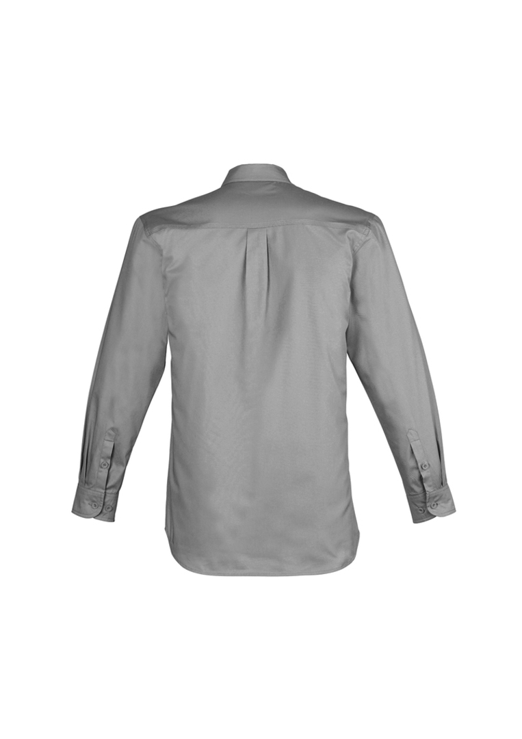 ZW121 Mens Lightweight Tradie Shirt - Long Sleeve image 4