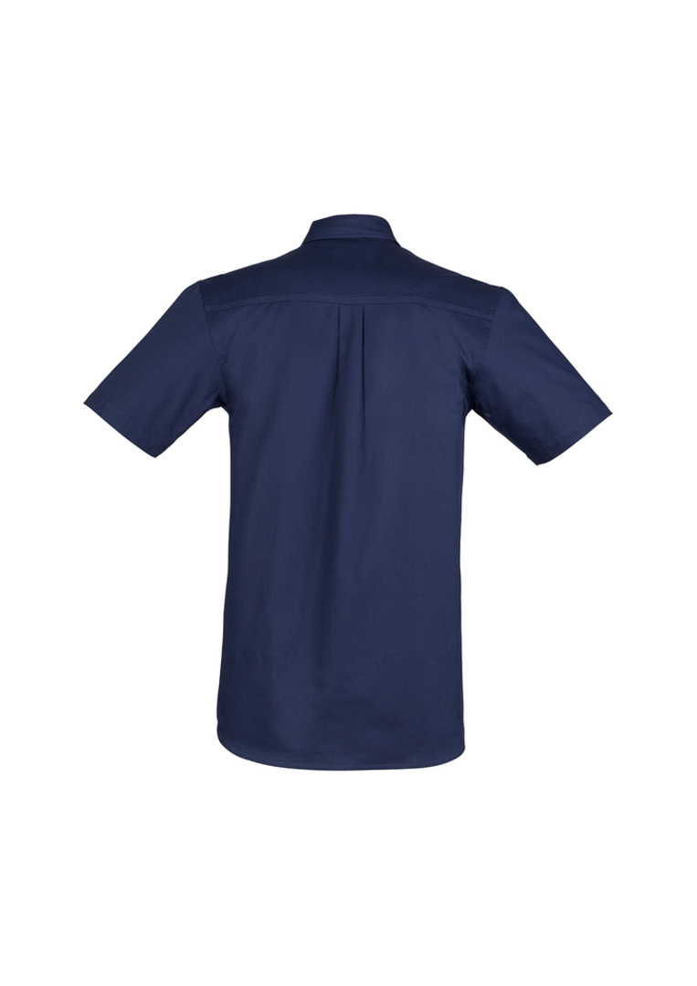 ZW120 Mens Light Weight Tradie Shirt - Short Sleeve image 3